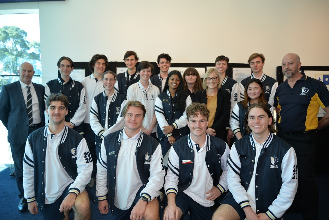 Staff and students from John Curtin College of the Arts