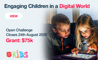 Image thumbnail for challenge entitled Engaging Children in a Digital World